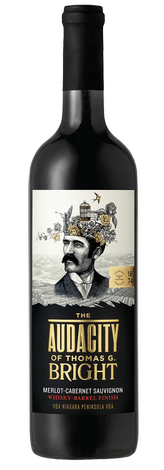 The Audacity of Thomas G. Bright Cabernet Merlot