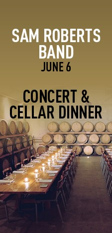 Sam Roberts Band - Concert & Cellar Dinner