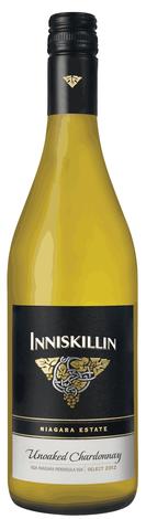2014 Inniskillin Niagara Estate Series Unoaked Chardonnay