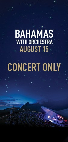 Bahamas with Orchestra - Concert Only