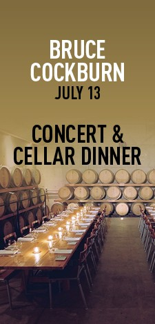 Bruce Cockburn - Concert & Cellar Dinner