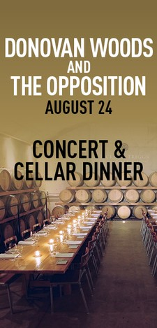 Donovan Woods and The Opposition - Concert & Cellar Dinner