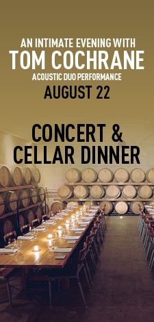 An Intimate Evening with Tom Cochrane - Acoustic Duo - Concert & Cellar Dinner