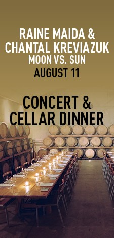 Raine Maida & Chantal Kreviazuk - Concert & Cellar Dinner