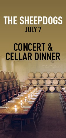 The Sheepdogs - Concert & Cellar Dinner
