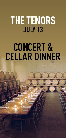 The Tenors - Concert & Cellar Dinner