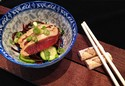Chocolate Soba Noodle Salad With Soy Cured Duck Breast