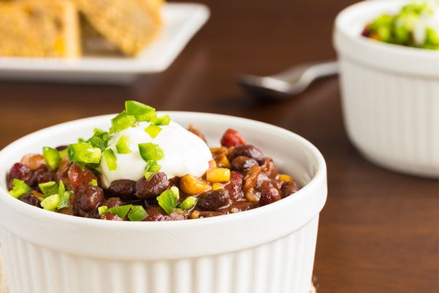 Chocolate Red Wine Chili